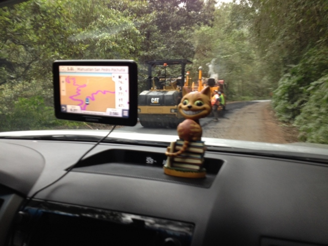 The GPS tells the story