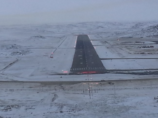 Final into Iqaluit